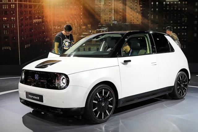 Honda ephiên bản sản xuất giới thiệu tại Frankfurt Motor Show 2019. Ảnh: Carscoops.