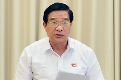 Chủ tịch Hội đồng dân tộc Hà Ngọc Chiến. Ảnh: Trung tâm báo chí Quốc hội