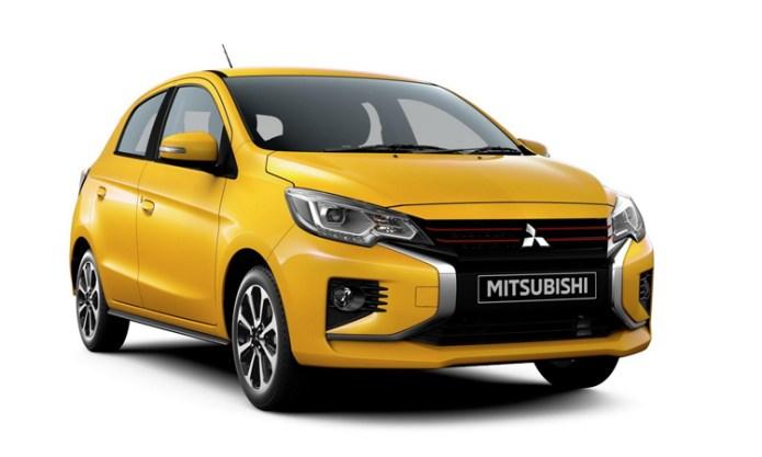 Mirage phiên bản nâng cấp, với chữ X ở đầu xe - đặc trưng của ngôn ngữ thiết kế Dynamic Shield. Ảnh: Mitsubishi