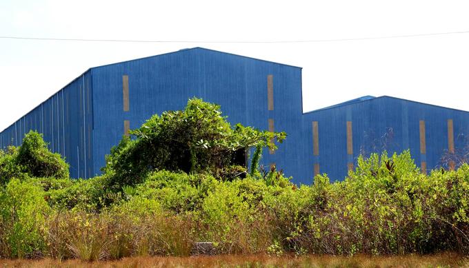 Nhà máy đóng tàu 1.000 tỷ đồng bỏ hoang