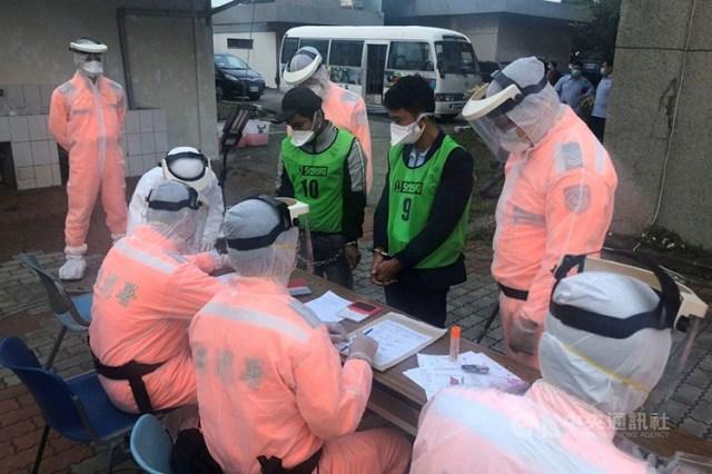 Đài Loan bắt 31 người Việt nhập cư lậu trên tàu cá