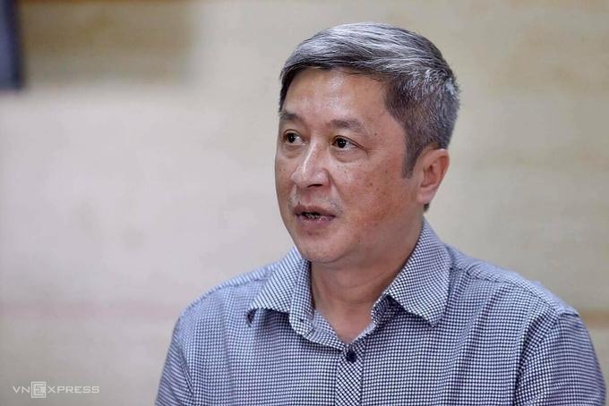 Thứ trưởng Y tế Nguyễn Trường Sơn. Ảnh: Gia Chính