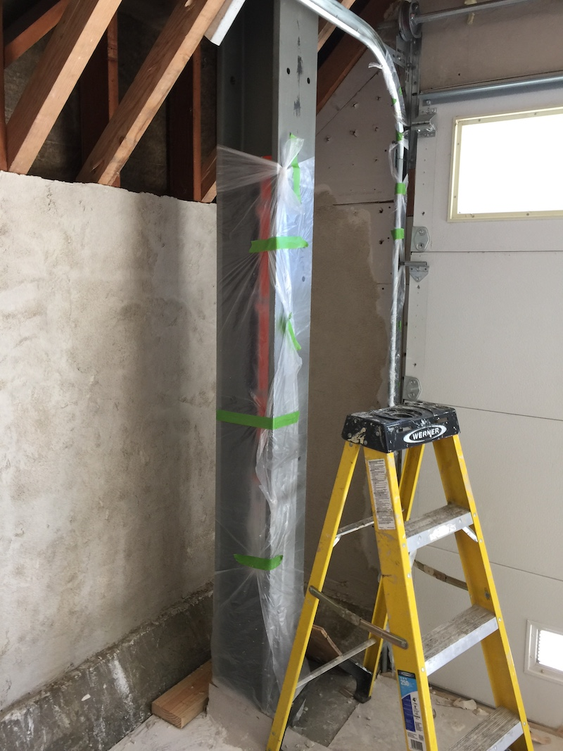 The process of a residential seismic retrofit