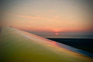 Bijna sunset. Foto: Jeroen Vink.