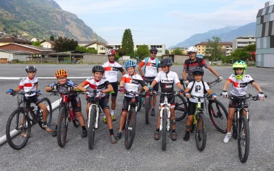 Ecole de cyclisme: les entraînements ont repris