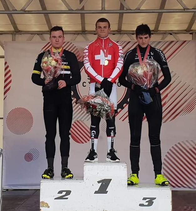 CS de cyclocross : Gilles Mottiez en bronze !