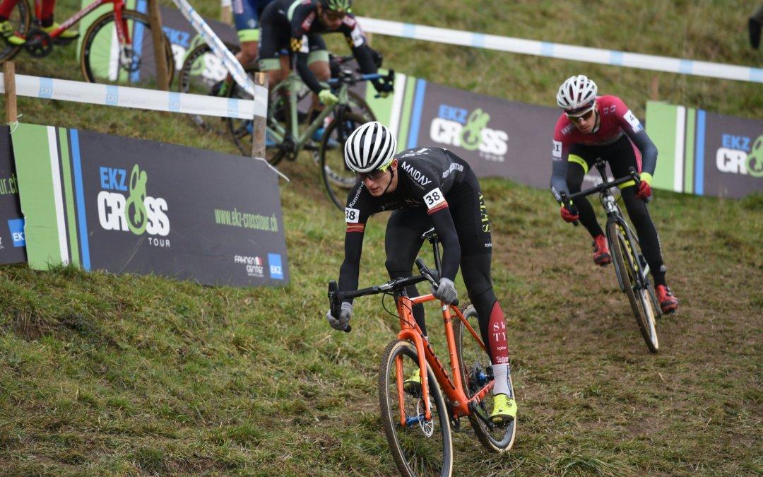 Gilles Mottiez au départ des championnats de Suisse à Sion !