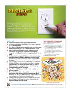 Clicke to view fact sheet on electrical safety.