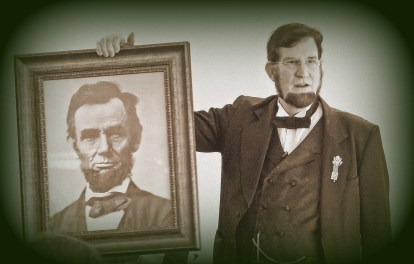Lincoln with Lincoln