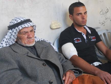 Mohammed and Ahmed Qdeih Dec 15, 2012    Photo- Maher Alaa