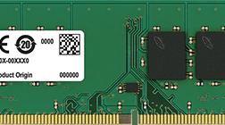 Memória Udimm Crucial 4gb Ddr4-2400