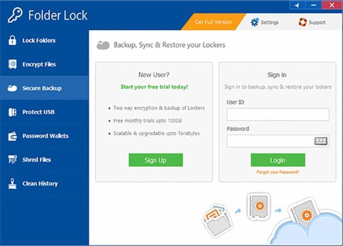 Folder Lock For Windows 10