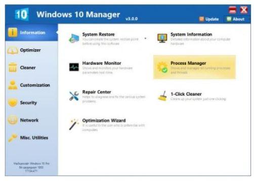Windows 10 Manager Crack