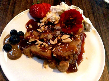 A one-of-a-kind artisanal, locally sourced bread pudding.