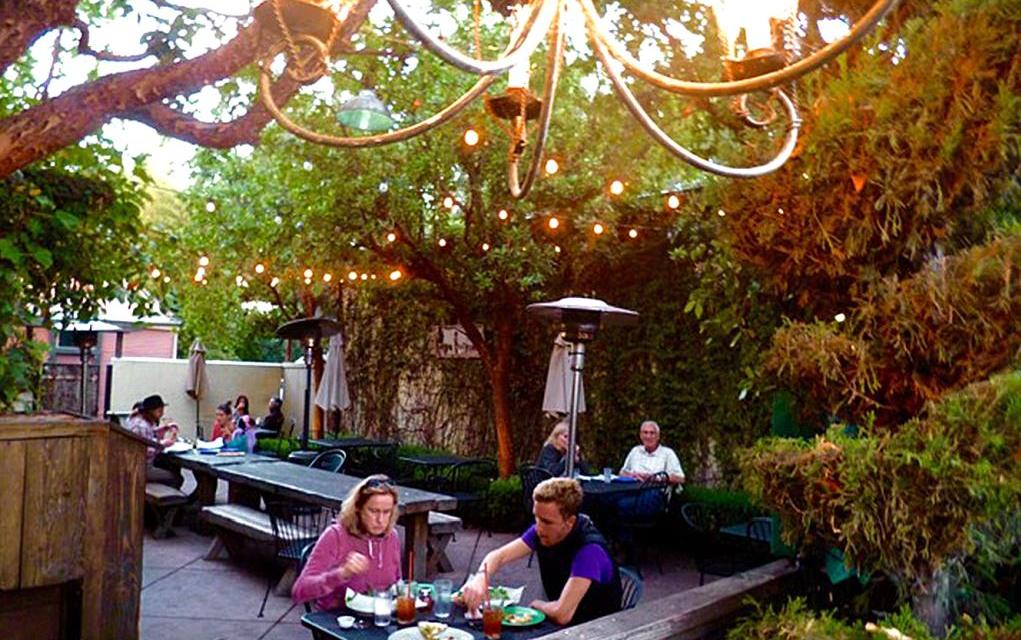 Come for the hearty portions, stay for the great patio