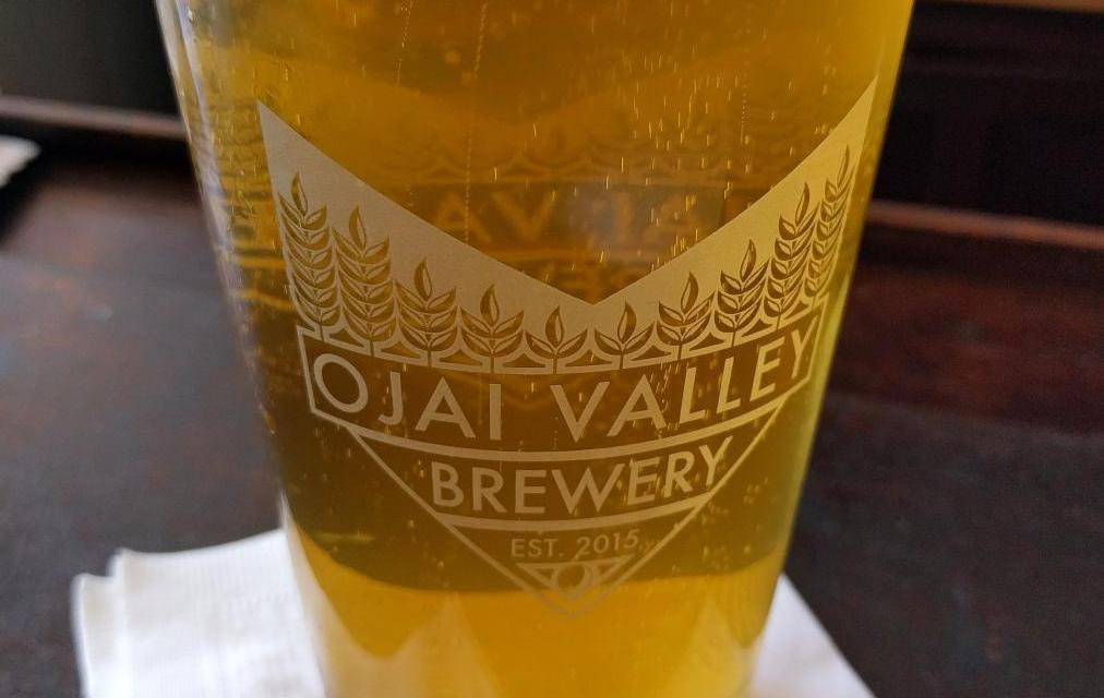 Foraging for a native beer in Ojai