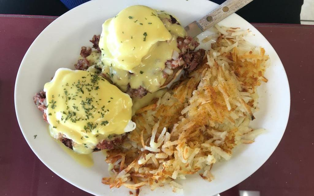 Picture-perfect benedict at Michael D's