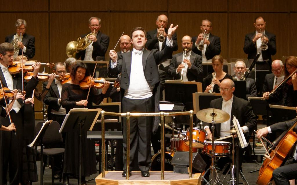 NEW WEST, YOUNG MAN | NWS music director seeks to boost audience interaction with musicians