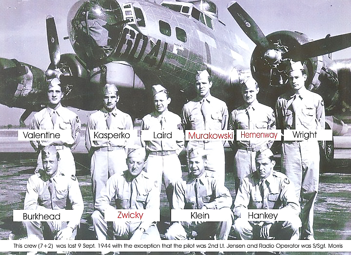 HELP FIND AIRMAN BURKHEAD   Crash site of US WWII plane uncovered