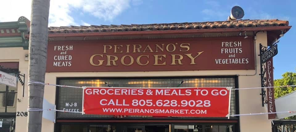 PEIRANO'S STICKS WITH TAKEOUT FOR NOW