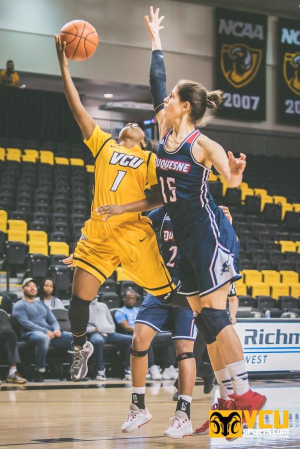 VCU Women's Basketball v Duquesne - VCU Sports