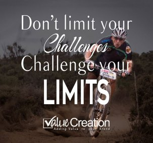 Don't limit your challenges. Challenge your limits