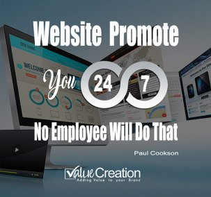 Website promote you 24x7,no employee will do that