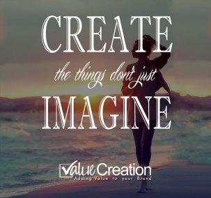 Create the thing don't just imagine