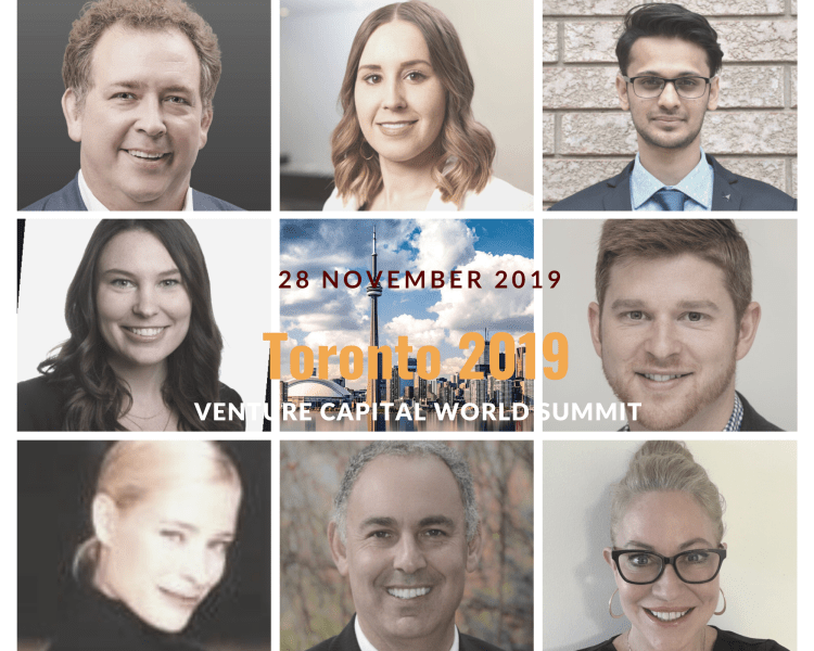 Toronto 2019 Speakers Venture Capital Word Summit