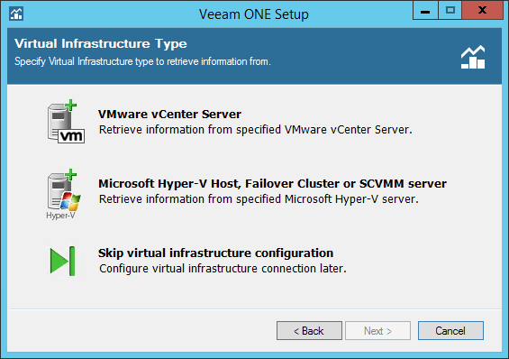 Veeam ONE step 10