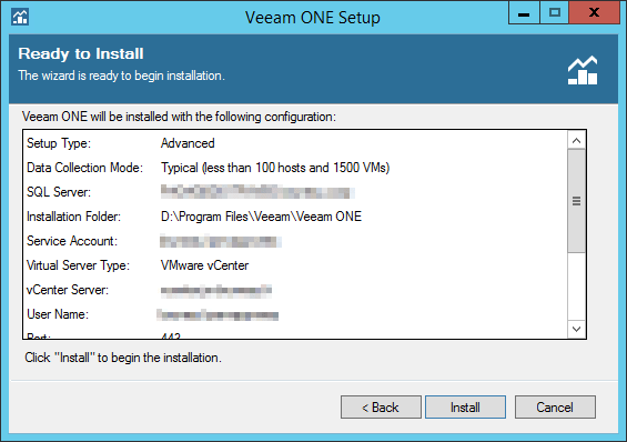 Veeam ONE step 14
