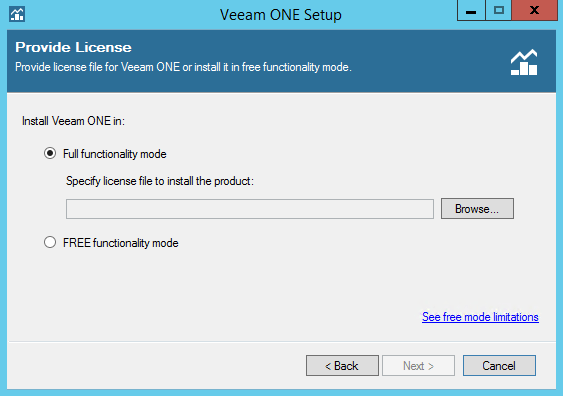 Veeam ONE step 3