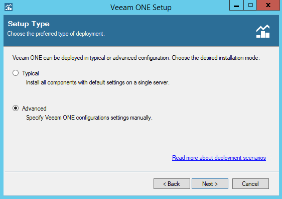 Veeam ONE step 4
