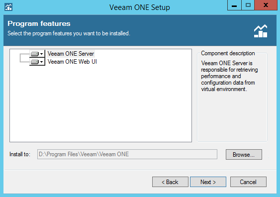 Veeam ONE step 5