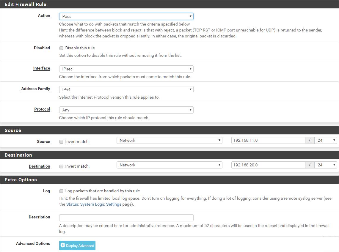 TUTO] - Ubiquiti ERL : Configure a site-to-site IPSec VPN