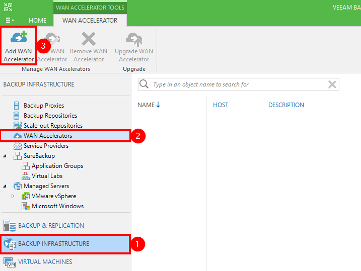 TUTO] - Veeam : Install and Configure WAN Accelerator - vDays net