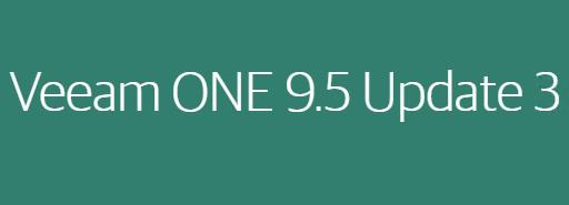 Veeam ONE 9.5