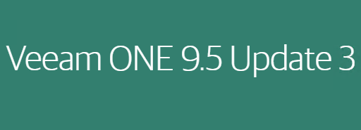 Veeam ONE 9.5