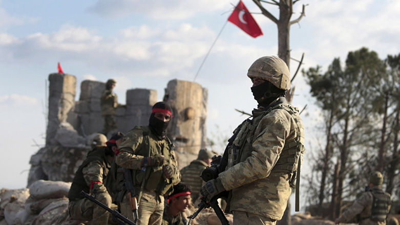 Turkish shelling is renewed on villages in the eastern countryside of Aleppo