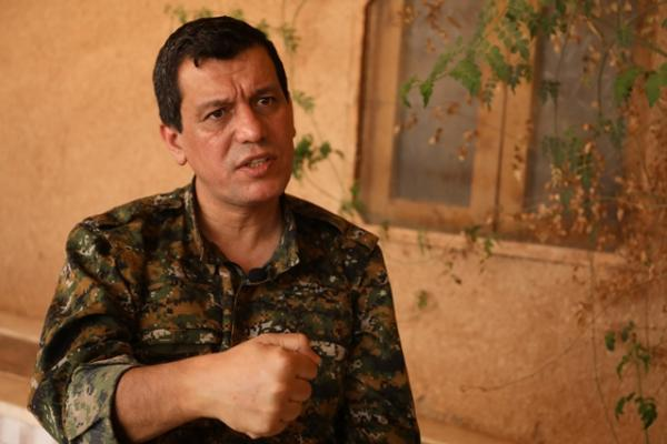 The Kurds' commander in chief explains why his forces are finally ready to partner with Assad and Putin.