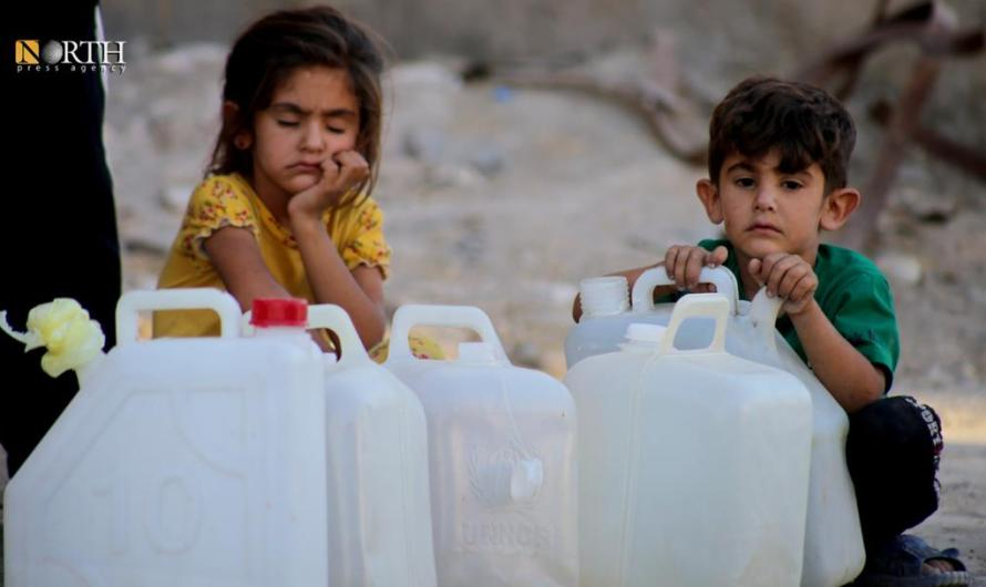 89 Organizations denounce Turkey's Repeated Water cut to Hundreds of Thousands of People in Syria's North East