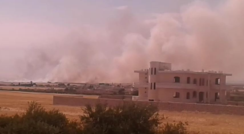عفرين: استمرار حرائق الغابات في ميدانكي