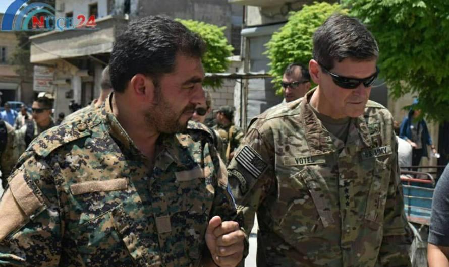 مجلس منبج العسكري يستقبل وفدا من التحالف وموقف مشترك رافض لتهديدات تركية