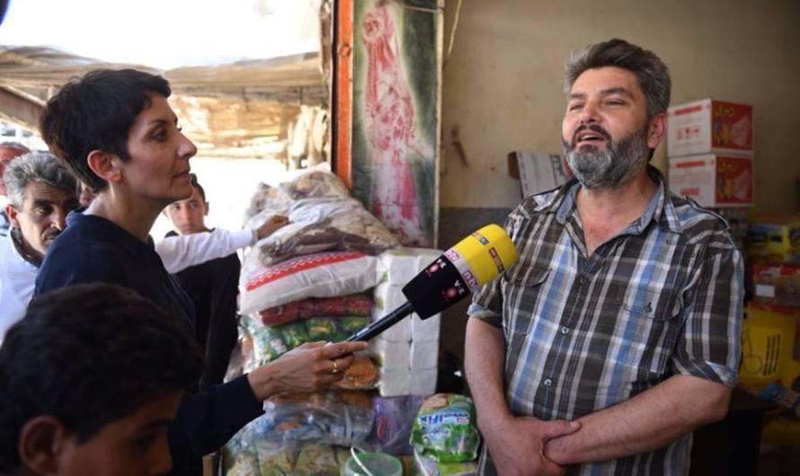تركية تنظيم جولة لصحفيين في عفرين