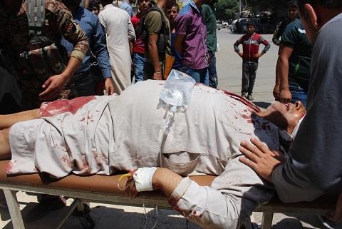 منبج: قتلى وجرحى في انفجار خلال تظاهرة شعبية تندد بالاحتلال التركي