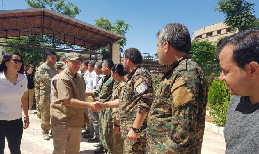 مجلس منبج العسكري يعزز انتشاره في منبج وريفها