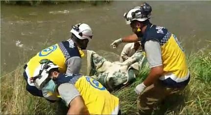انتشال جثة غريق جديد من بحيرة ميدانكي بعفرين