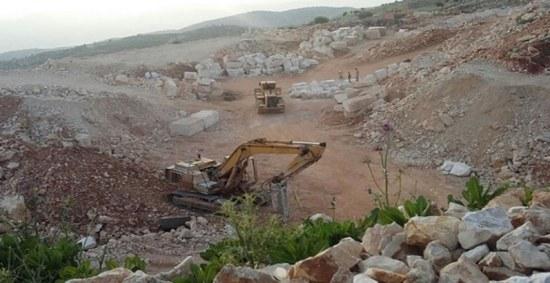 الباب: أحرار الشام تفرض غرامة تصل الى 40000$ على اصحاب مقالع الحجر
