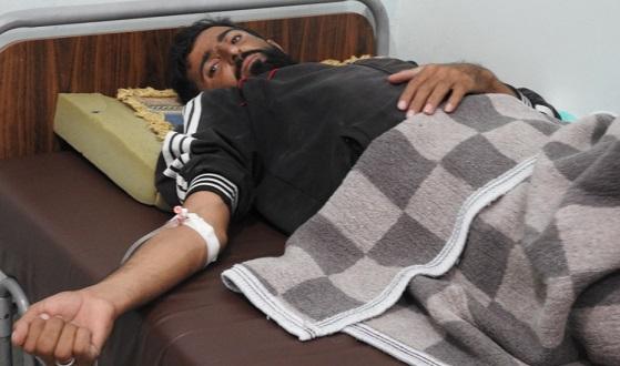 جريح برصاص الجندرمة التركية في مدينة تل أبيض شمالي الرقة