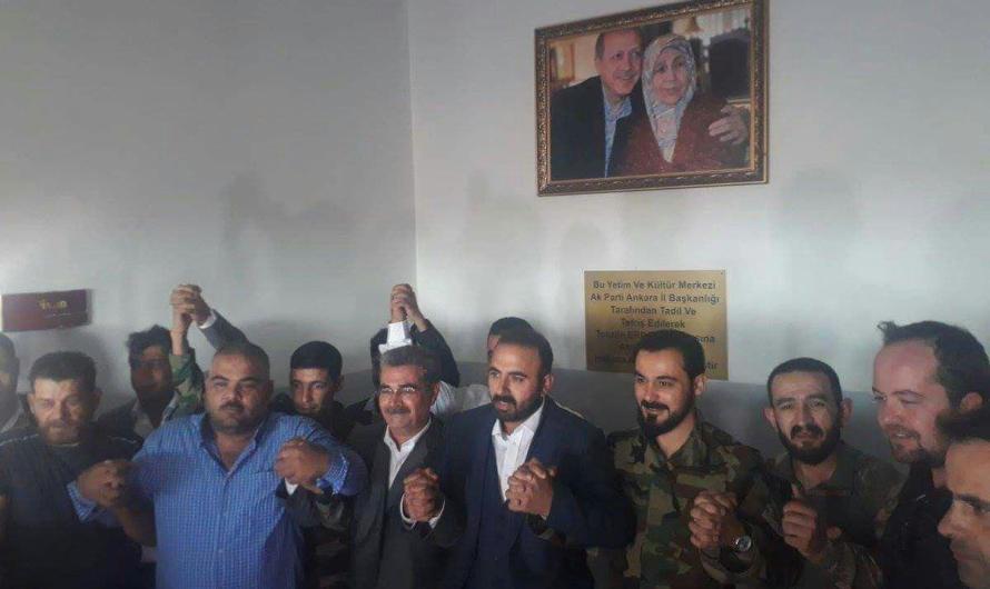 اطلاق اسم والدة اردوغان على مدرسة في منطقة عفرين بريف حلب